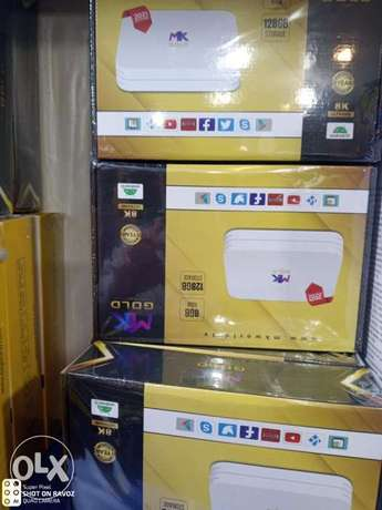 Mk Gold + eagle gold Android TV box