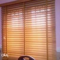We sell and install window blinds
