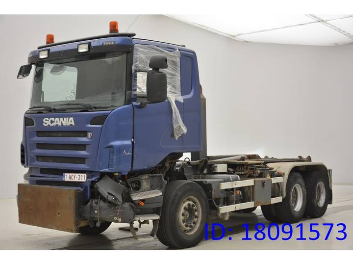 Scania R480 - 6x4 - 2009
