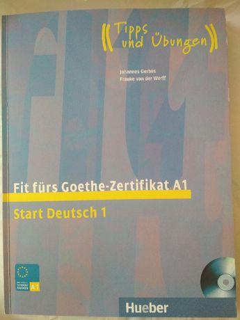 немецкий Deutsch 1 а1 Fit Furs Goethe Zertifikat учебник 300 грн