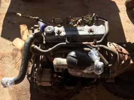 Isuzu KB 220 Engine and Gearbox Complete (Reduced)