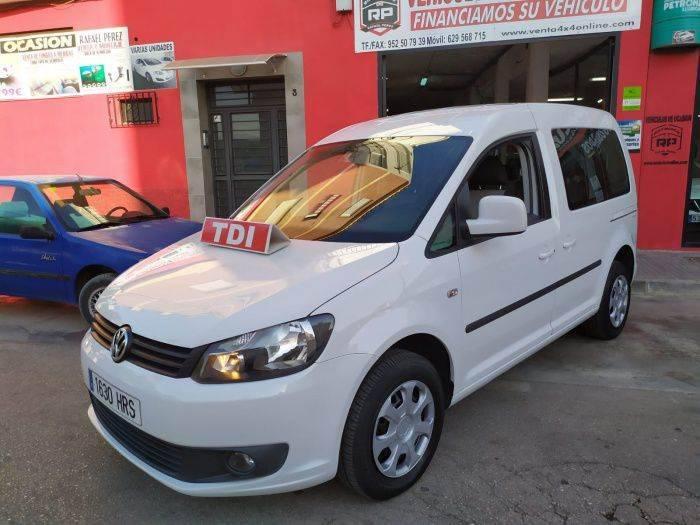 Volkswagen Caddy 1.6tdi Bmt Comfortline 102 - 2013