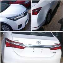 2015 Toyota Corolla (Toks) at a reasonable rate