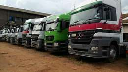 Top ride's actross and axor trucks