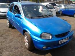 Corsa light 3 Door Model 2005 Colour Blue Factory A/C & CD Player