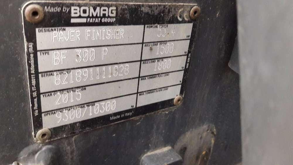 BOMAG Bf300 P S340-2 Ve Pb - 2015 - image 13