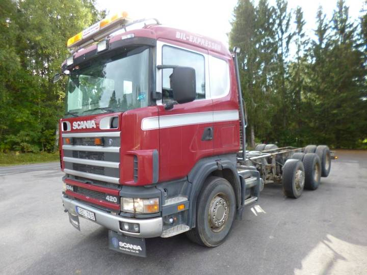 Scania R124gb6x2nz420 - 2001