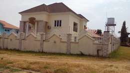 A Duplex located in a major and busy area at Gwarinpa