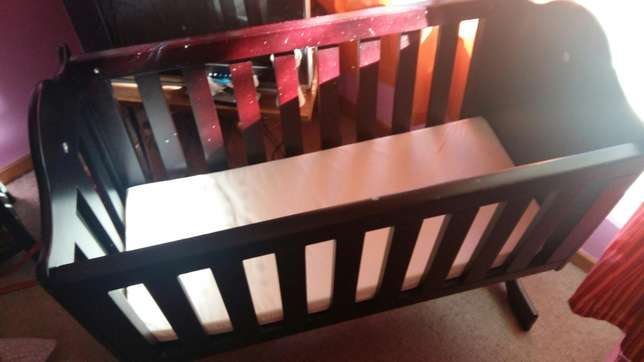 Wooden rocker cot Wonderboom - image 2