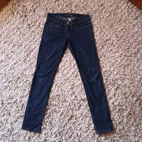 780b1f708b01de Denim co niebieskie rurki 36 S jeansy jeansowe spodnie obcisłe proste