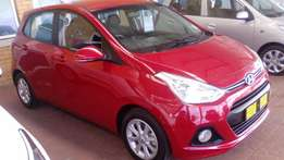 2016 Hyundai Grand i10's 1.2 available. Low kms, Pre-Owned