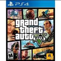 I'm looking for Grand theft auto 5 on ps4