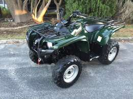 2014 Yamaha 550 Grizzly 4x4.. New Condition.!