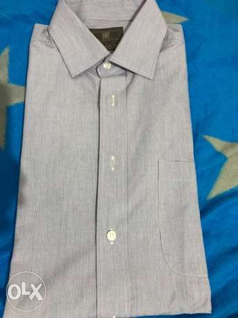 markes and spencer formal blue shirt size 15.5