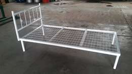 Bed Single Steel with mesh