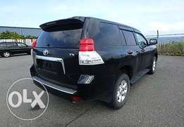 Black Toyota Prado TX with Sunroof 2010 KCN number