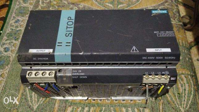 siemens Power Supply 24VDC 40A 960W 3-Phase