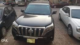 Toyota Land cruiser Prado 2012 upgraded to 2015 model