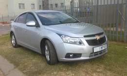 Chevrolet cruze 2012 model 1.8 accident free R105,000