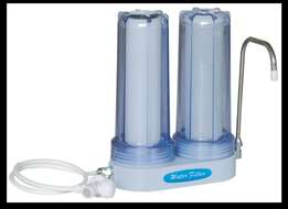 two stage domestic water filter