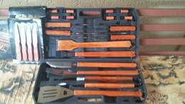 Braai set brand new.