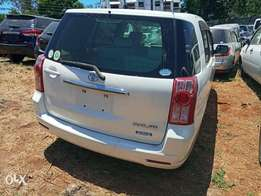 White Toyota Raum 2011 model. KCP number