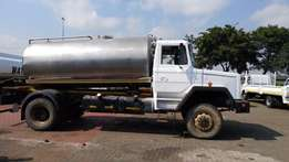 Samil 50 with stainless steel 9000l tank