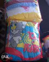 Duvet with bedsheet 2 pillow case