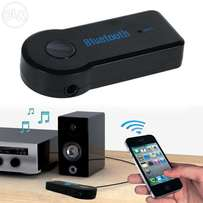 Bluetooth 3.5mm Audio Receiver Adapter with Hands Free Microphone A2DP