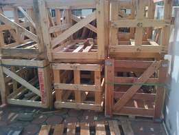 Heavy duty crates at a giveaway price