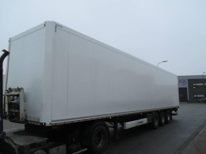 Krone SD kasten trailer mit hebebuhne 2500 kg !! - 2009