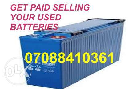 Sell your Old inverter Battery Agege Lagos Agege - image 1