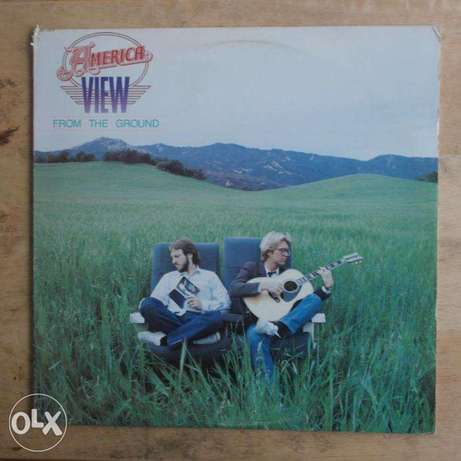 """america """"view from the ground' vinyl"""