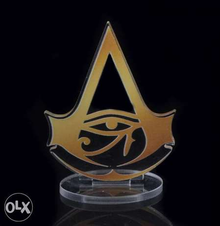 Assassin's Creed Origins transparent Logo for display