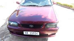 Maroon Toyota Tazz for sale in good condition