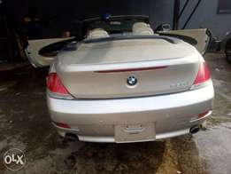 cheap neat Tokunbor BMW convertible