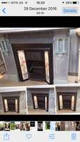 victorian antique fireplace