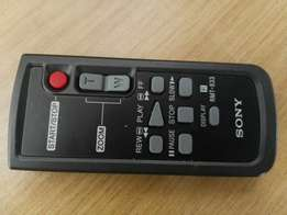 Sony video camera with remote