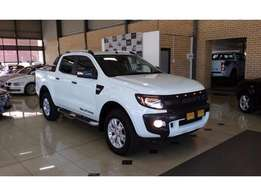 2013 FORD RANGER 3.2 double cab hi-rider xlt auto