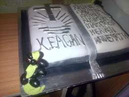 confirmation cake special cake & 100 fancies R1000.00