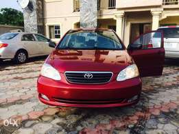 Just in from Canada accident free Tokunbo Toyota Corolla available for