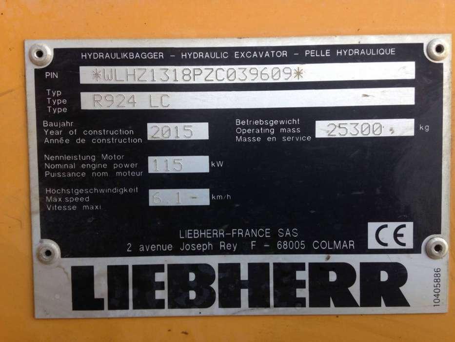 Liebherr R924lc - 2015