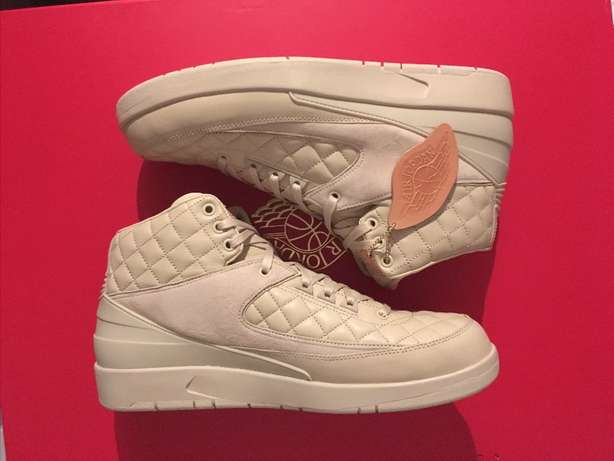 "Nike Air Jordan 2 Retro x Just Don ""Beach"" Rare Excl. Luxury Sneakers Kloofnek - image 1"