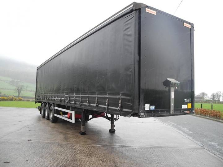 Montracon Curtain Trailer - 2007