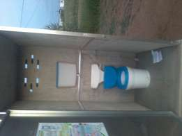 Vacant stand with toilet.water and electricity for sale in skirlek