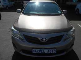 2012 Automatic Toyota Corolla Professional 1.8 For R100,000