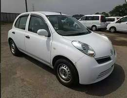 Nissan March white 2WD