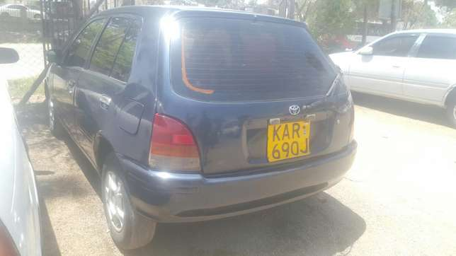 Toyota Starlet, Manual transmission, very clean. Buy and Drive Embakasi - image 3