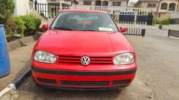 VW Golf 4. Superclean Red!