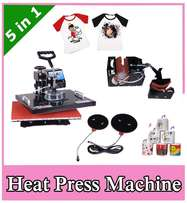 Brnad new 5 Combo Heat Press Sublimation Transfer Machine